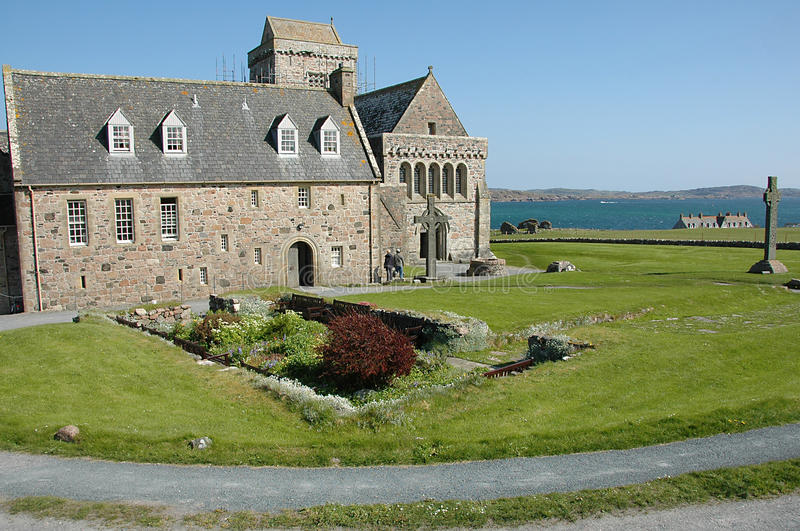 Download Iona Abbey stock image. Image of worship, hebredies, ancient - 25136535