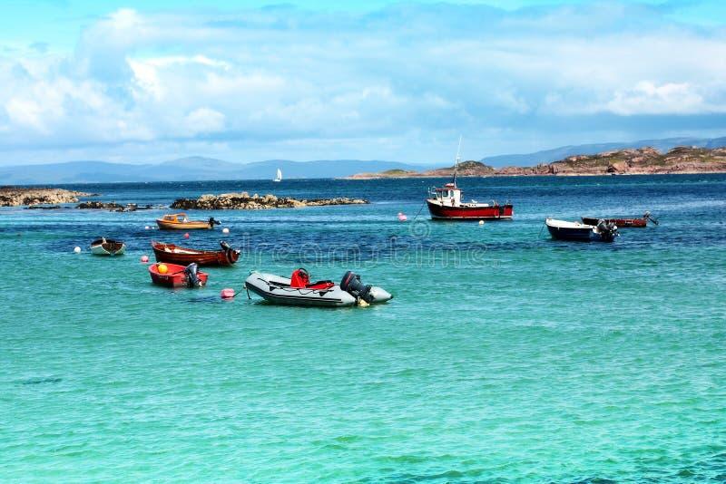 Iona, isla escocesa foto de archivo