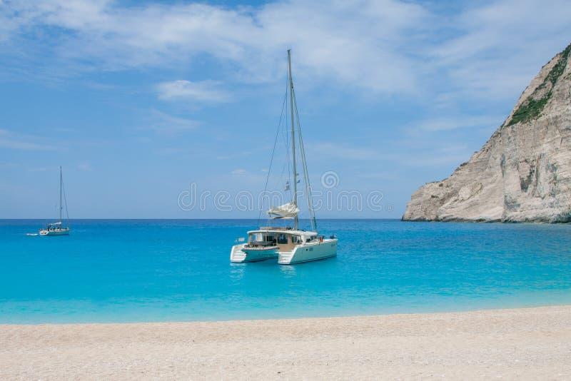 Ionian morze obraz stock