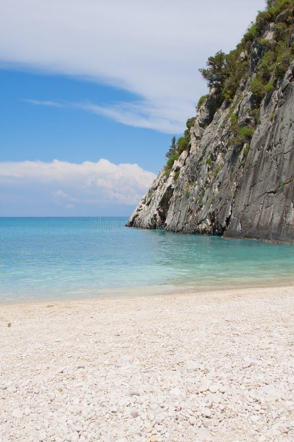 Ionian sea stock image
