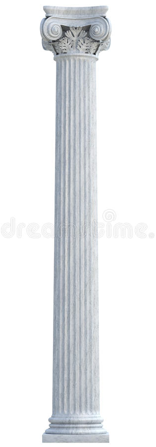 Ionic Column royalty free stock image