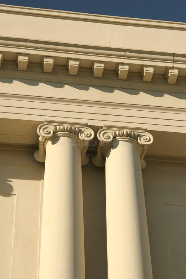 Download Ionic Columns Stock Image - Image: 16195181