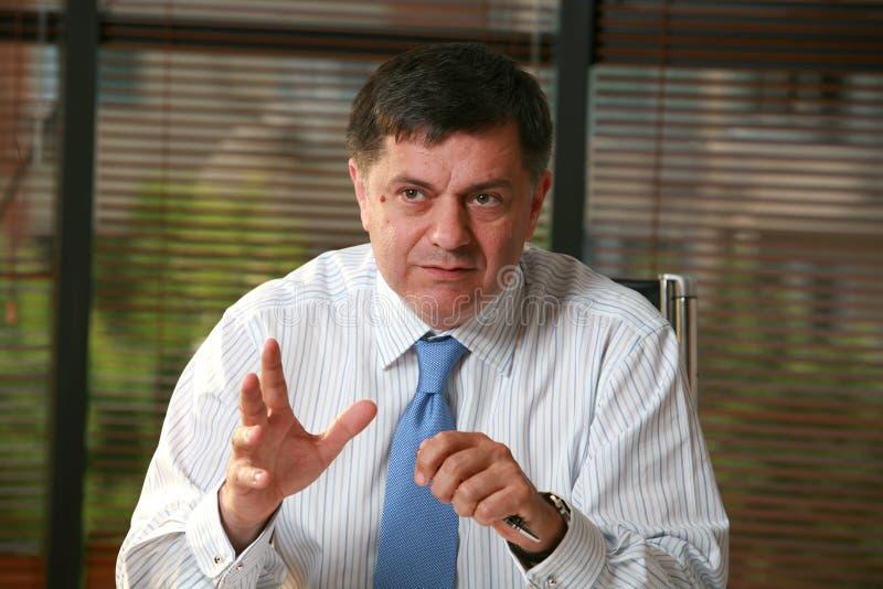 Ionut Costea. President Exim Bank royalty free stock photos