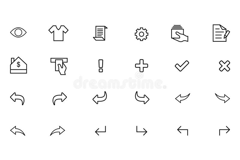IOS and Android Vector Icons 9 vector illustration