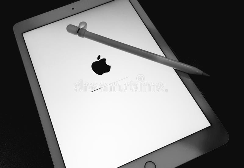 iOS-förbättring royaltyfri bild