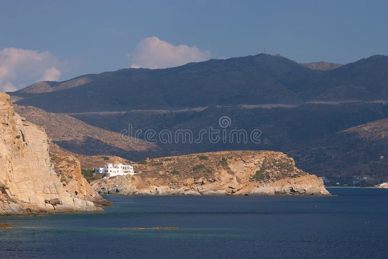 Ios, Greece royalty free stock photography
