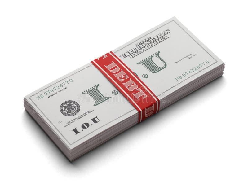 Download IOU Debt stock image. Image of loan, bill, eliminate - 29609303