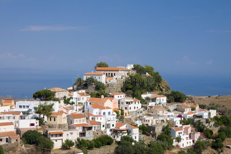ioulis isola di kea grecia immagine stock immagine di
