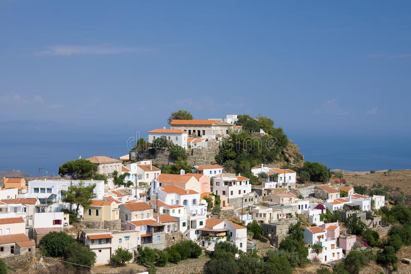 Ioulis, Kea Insel, Griechenland lizenzfreie stockbilder