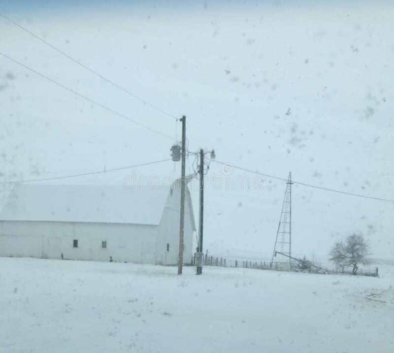 Iowa-Bauernhof lizenzfreies stockfoto
