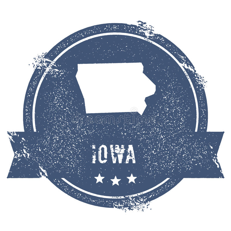 Iowa ocena ilustracja wektor