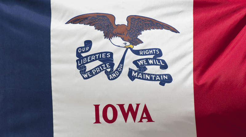 Download Iowa State Flag stock image. Image of sioux, waving, moines - 14795865