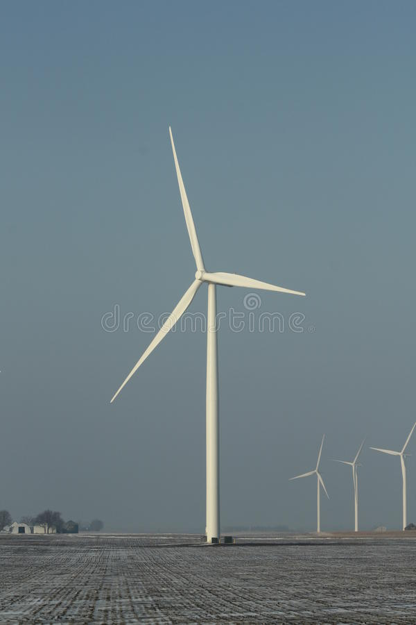 Download Iowa Wind Turbine Royalty Free Stock Photography - Image: 26656007