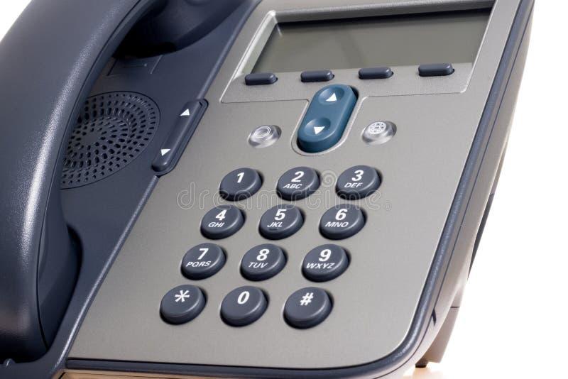 IP Phoneon witte achtergrond stock fotografie
