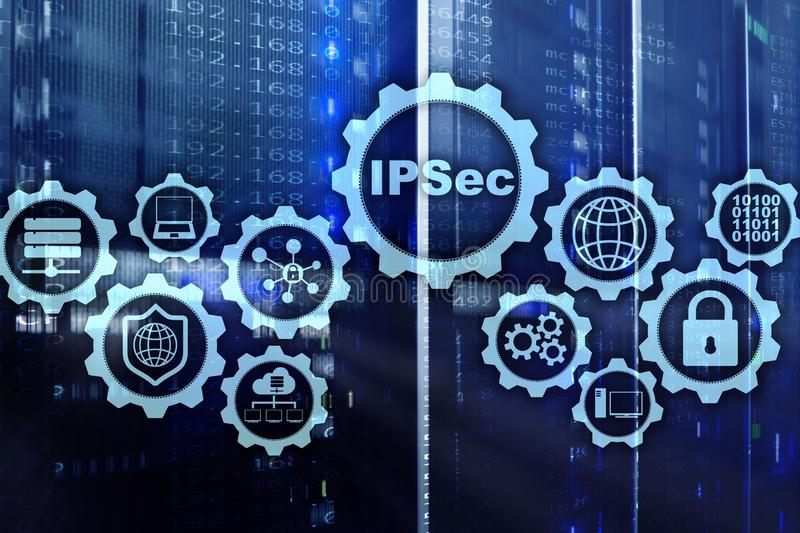 IP Security. Data Protection Protocols. IPSec. Internet and Protection Network concept. IP Security. Data Protection Protocols. IPSec. Internet and Protection stock photos