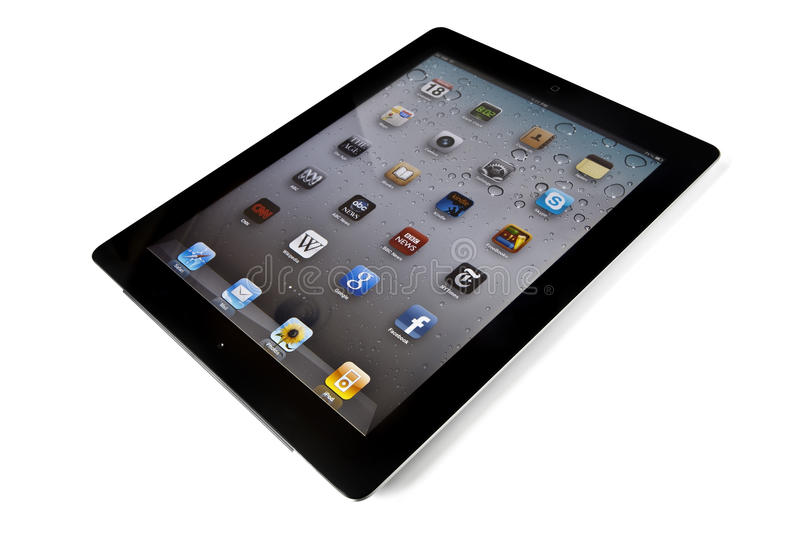 IPad 2 stock photo