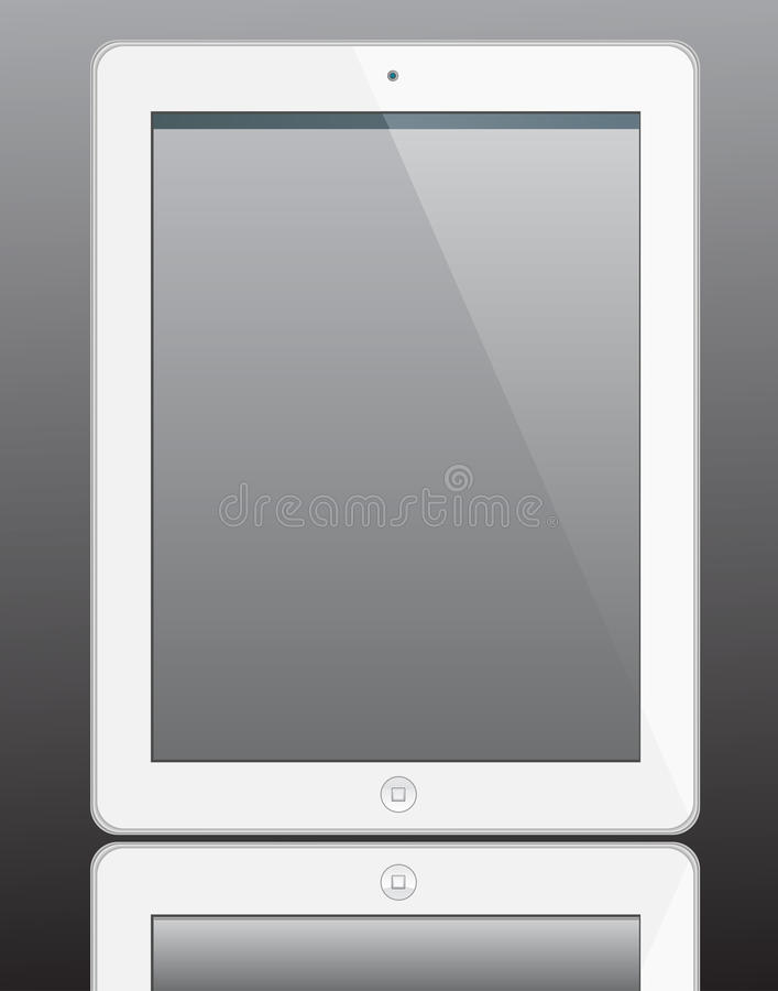 Ipad 2 illustration libre de droits