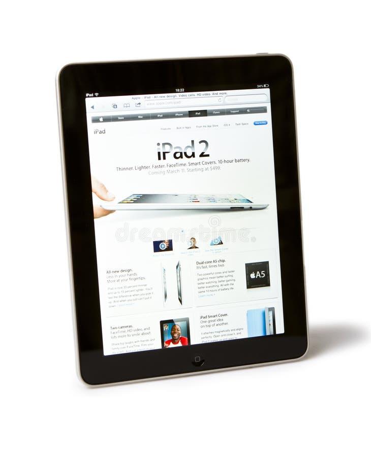 iPad 2 de Apple foto de archivo libre de regalías