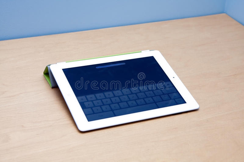 IPad 2 tablet computer with webcam stock images