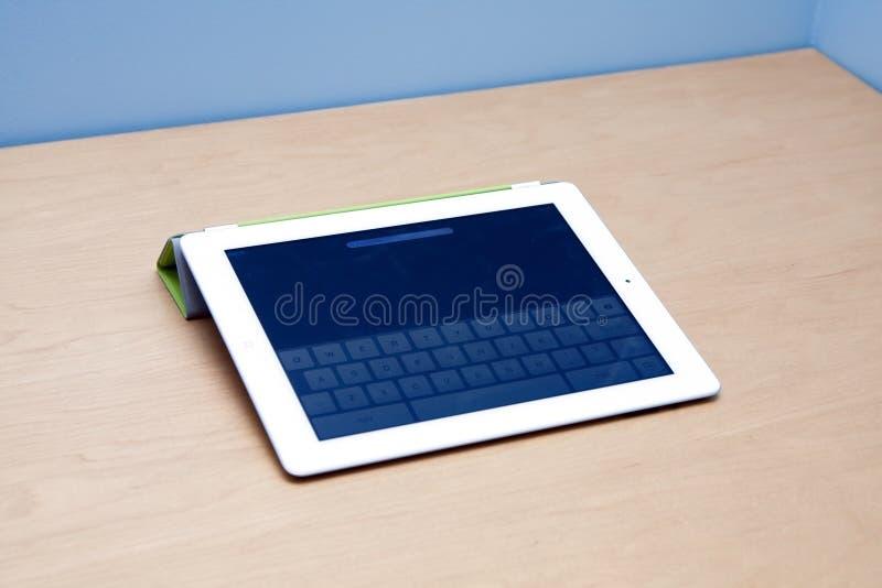 IPad 2 tabletcomputer met webcam stock afbeeldingen