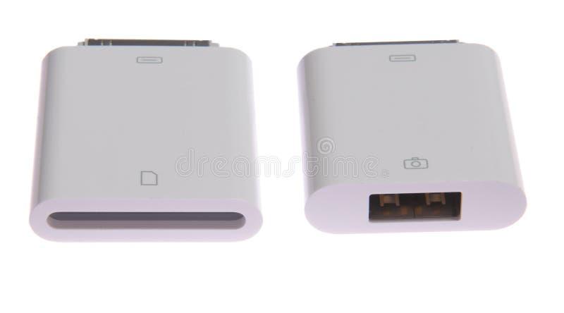IPad Camera Connection Kit Stock Image