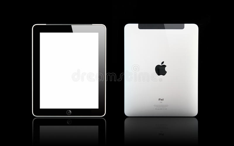 Ipad de Apple imagem de stock