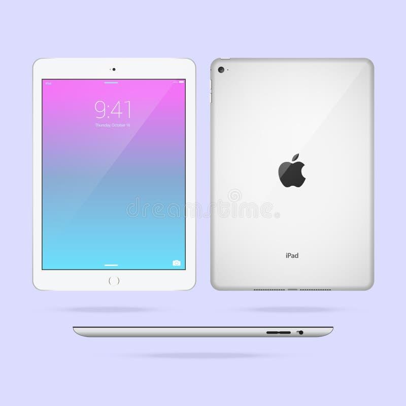 iPad de Apple ilustração stock