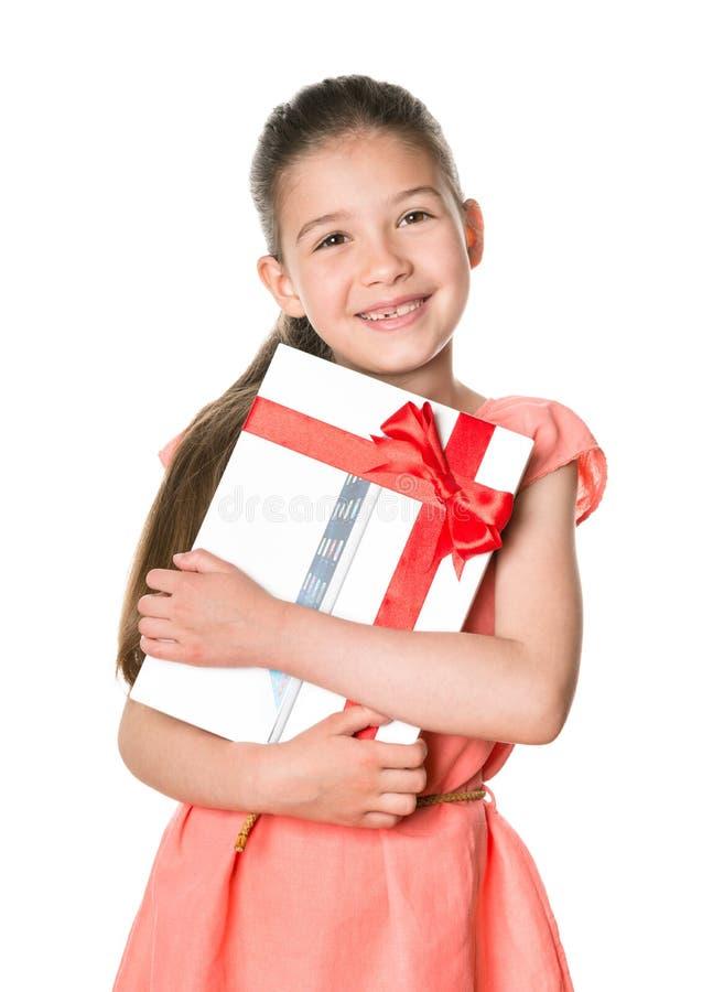 IPad de Apple como regalo de cumpleaños imagen de archivo libre de regalías