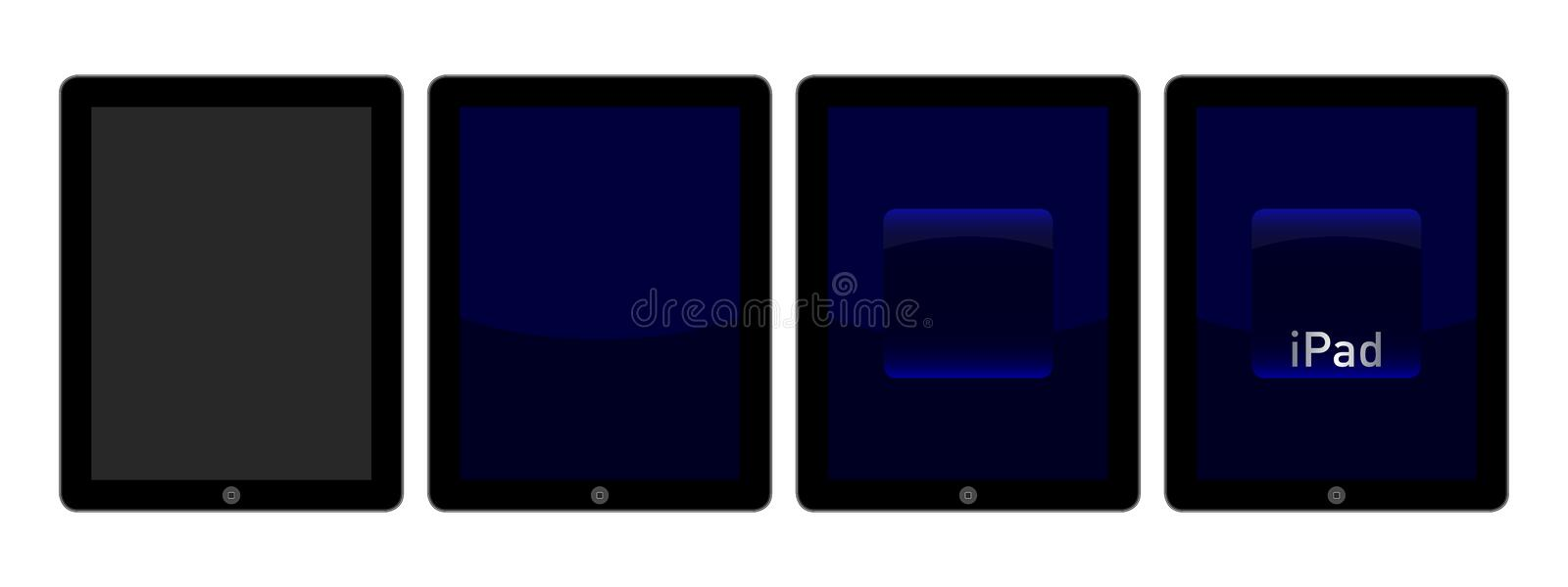 Download IPad intro animation editorial photography. Image of electronics - 27834202