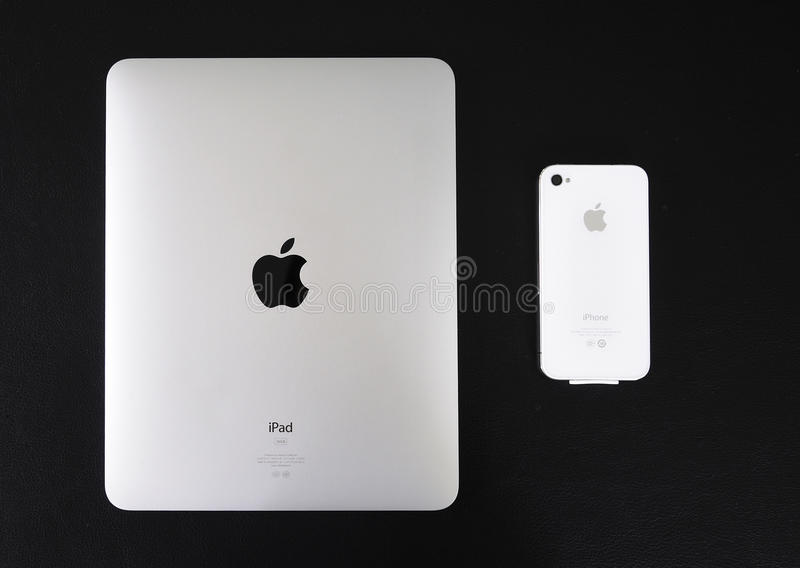 Download Ipad And  Iphone editorial stock photo. Image of black - 20155143