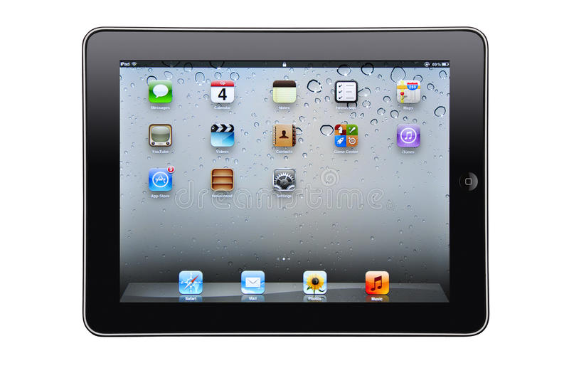 Download Ipad isolated editorial stock image. Image of touch, device - 24459769