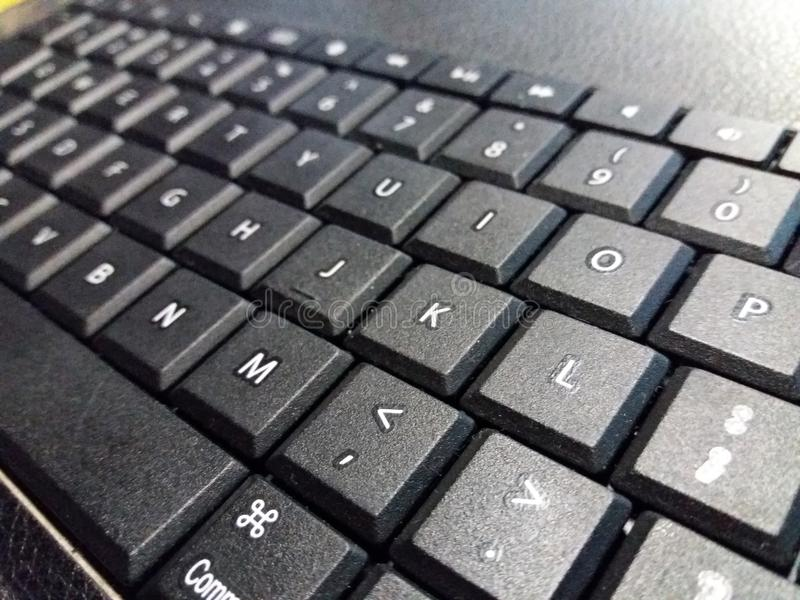 Ipad Keyboard stock image