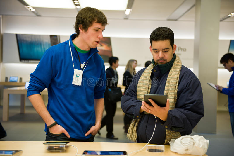 Download IPad Mini editorial stock photo. Image of consumers, people - 28643193