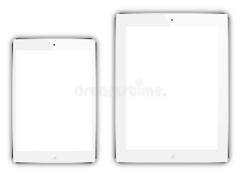 IPad mini y iPad stock de ilustración