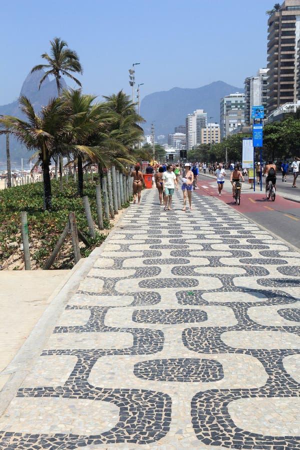 Ipanema, Rio zdjęcie stock