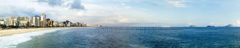 ipanema's beach stock photo