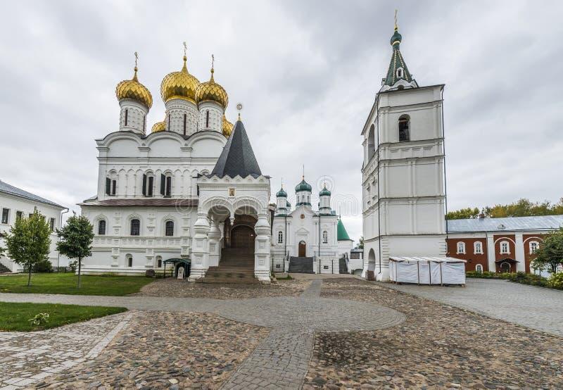 Ipatiev för helig Treenighet kloster arkivbild
