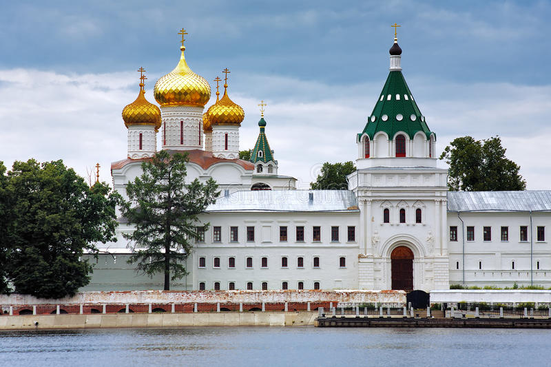 Ipatiev Monastery, Kostroma, Russia royalty free stock image