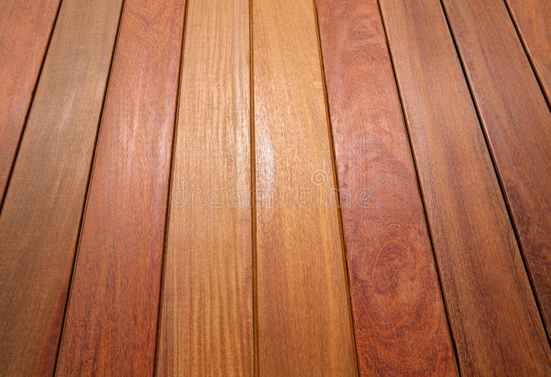 Ipe teak wood decking deck pattern tropical wood. Texture background royalty free stock image