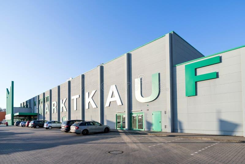 Ipermercato di Marktkauf in Elmshorn, Germania fotografia stock