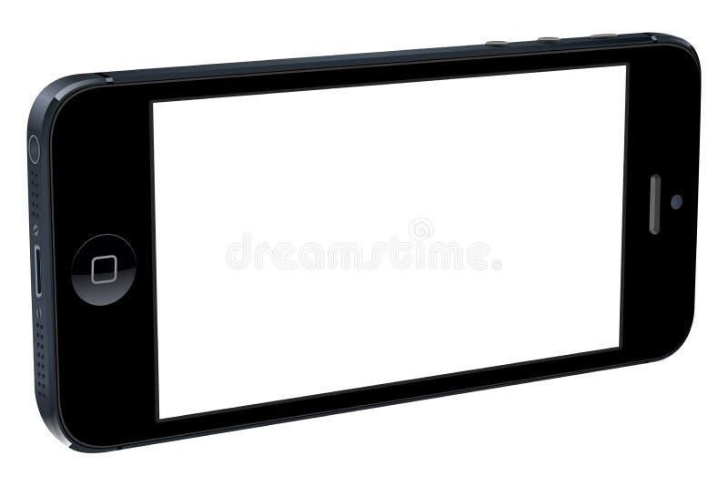 Iphone 5个3D 库存例证