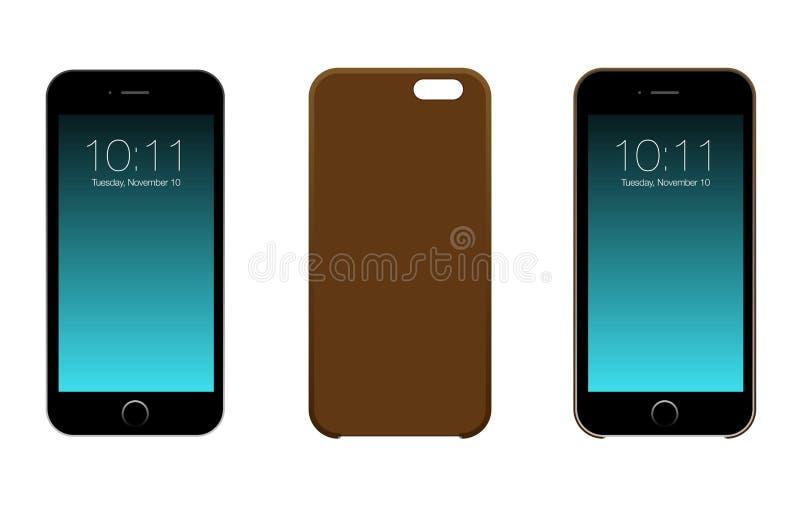 Iphone 6或6S 库存例证