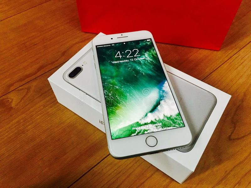 Iphone royaltyfri bild
