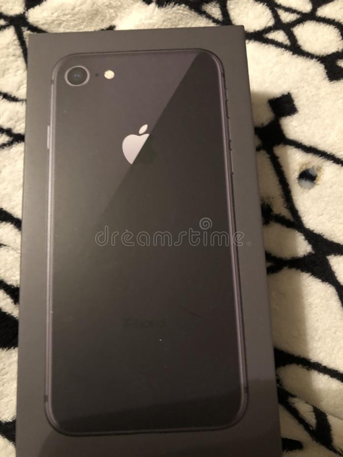 iPhone 8 lizenzfreie stockfotografie