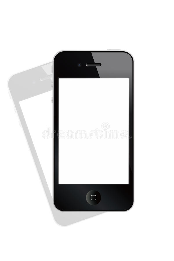iphone 向量例证