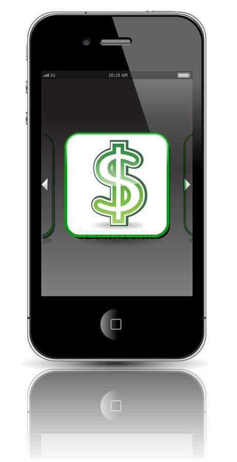 iphone 4 μήλων διανυσματική απεικόνιση