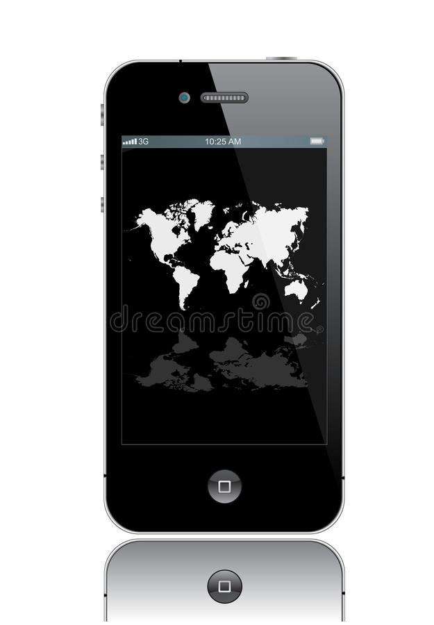 Iphone 4 vector illustratie