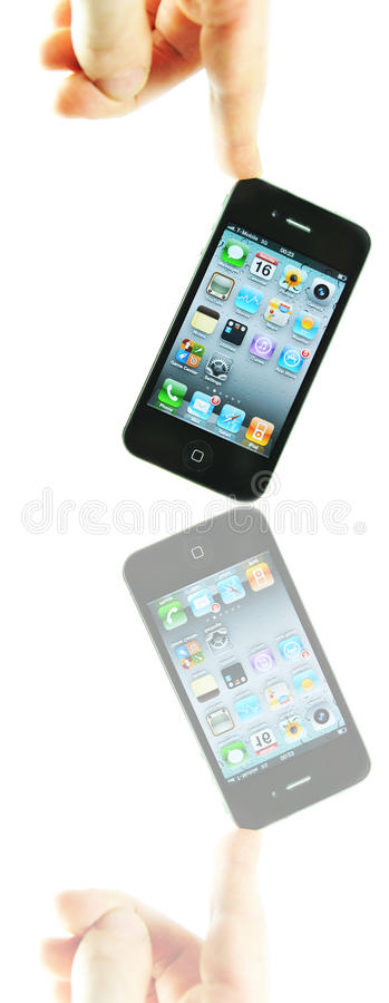 Iphone 4 royalty free stock image