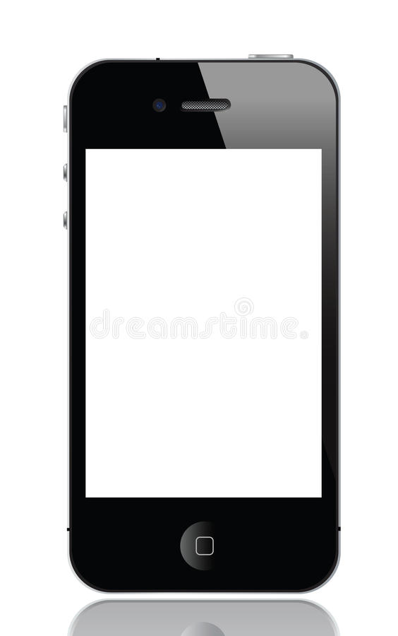 Iphone 4. Illustration of iphone 4, vector format