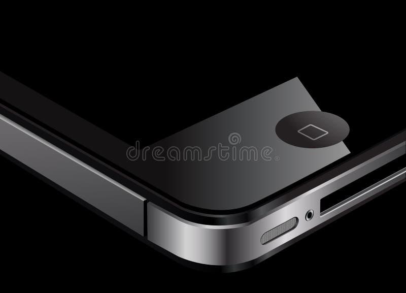 iphone 4 de pomme illustration de vecteur
